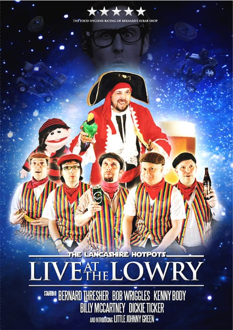 Buy Online The Lancashire Hotpots - Live at The Lowry Theatre