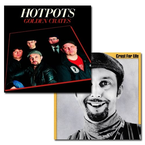 Buy Online The Lancashire Hotpots - Golden Crates CD & Crust For Life CD