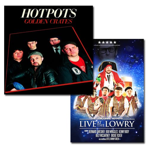 Buy Online The Lancashire Hotpots - Golden Crates and Live From The Lowry DVD