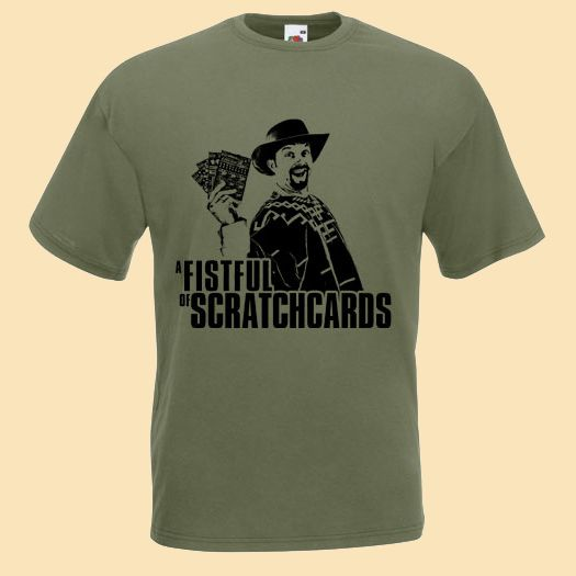 Buy Online The Lancashire Hotpots - A Fistful Of Scratchcards T-Shirt