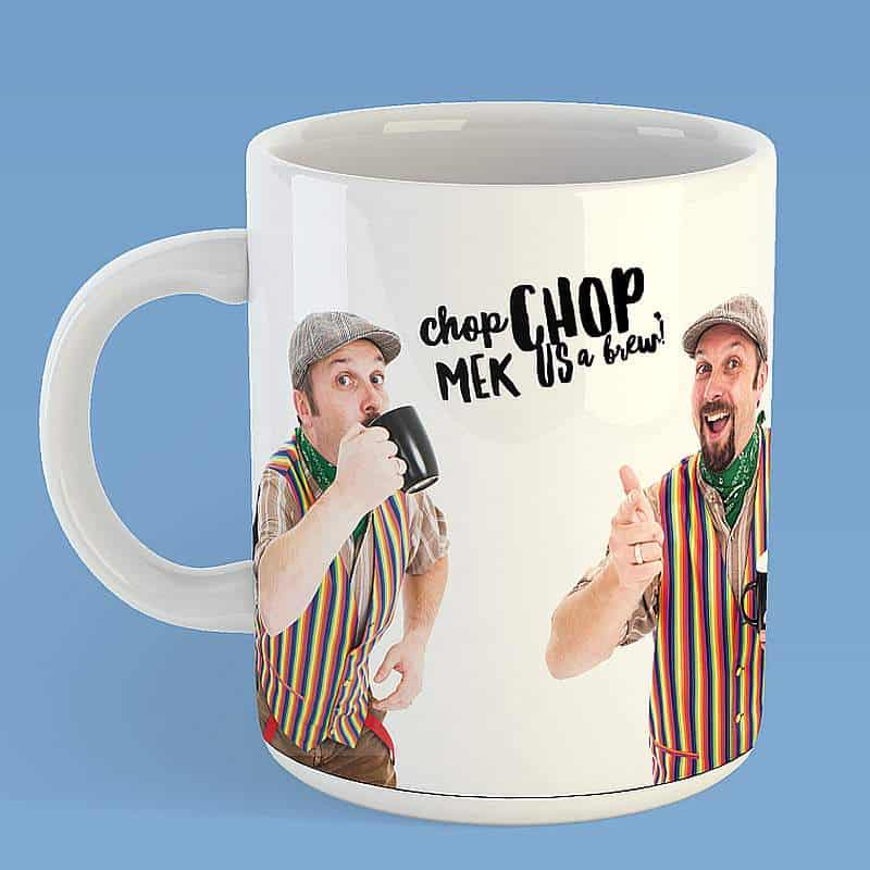 Buy Online The Lancashire Hotpots - Mek Us A Brew Mug