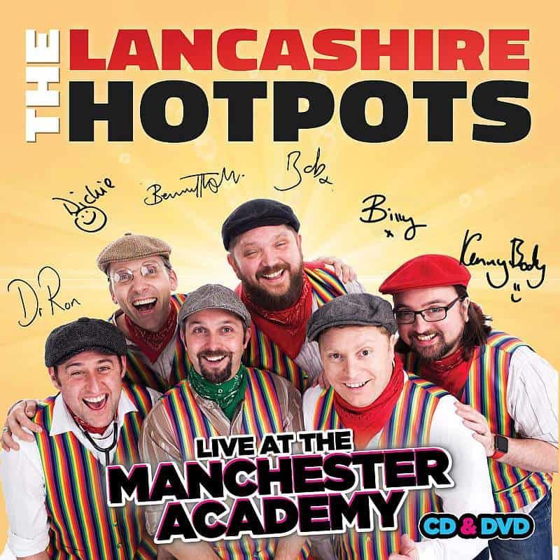 Buy Online The Lancashire Hotpots - Live at Manchester Academy (Signed)