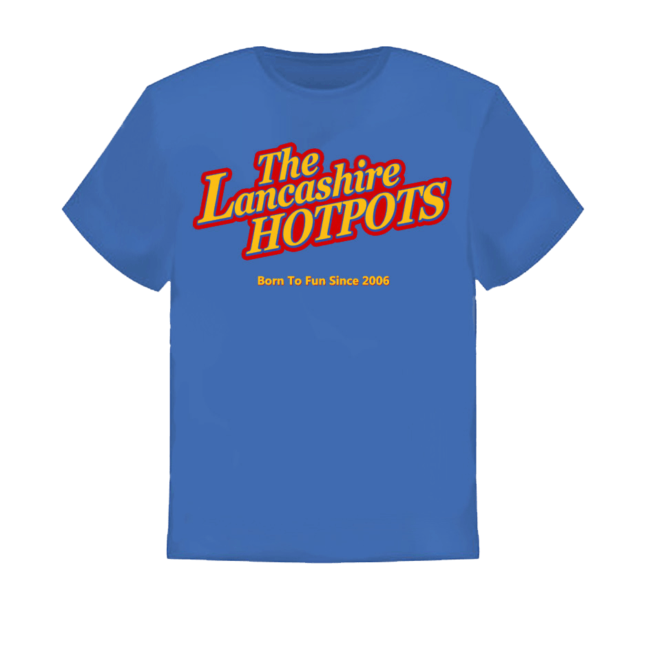 Buy Online The Lancashire Hotpots - New Hotpots Logo T-Shirt