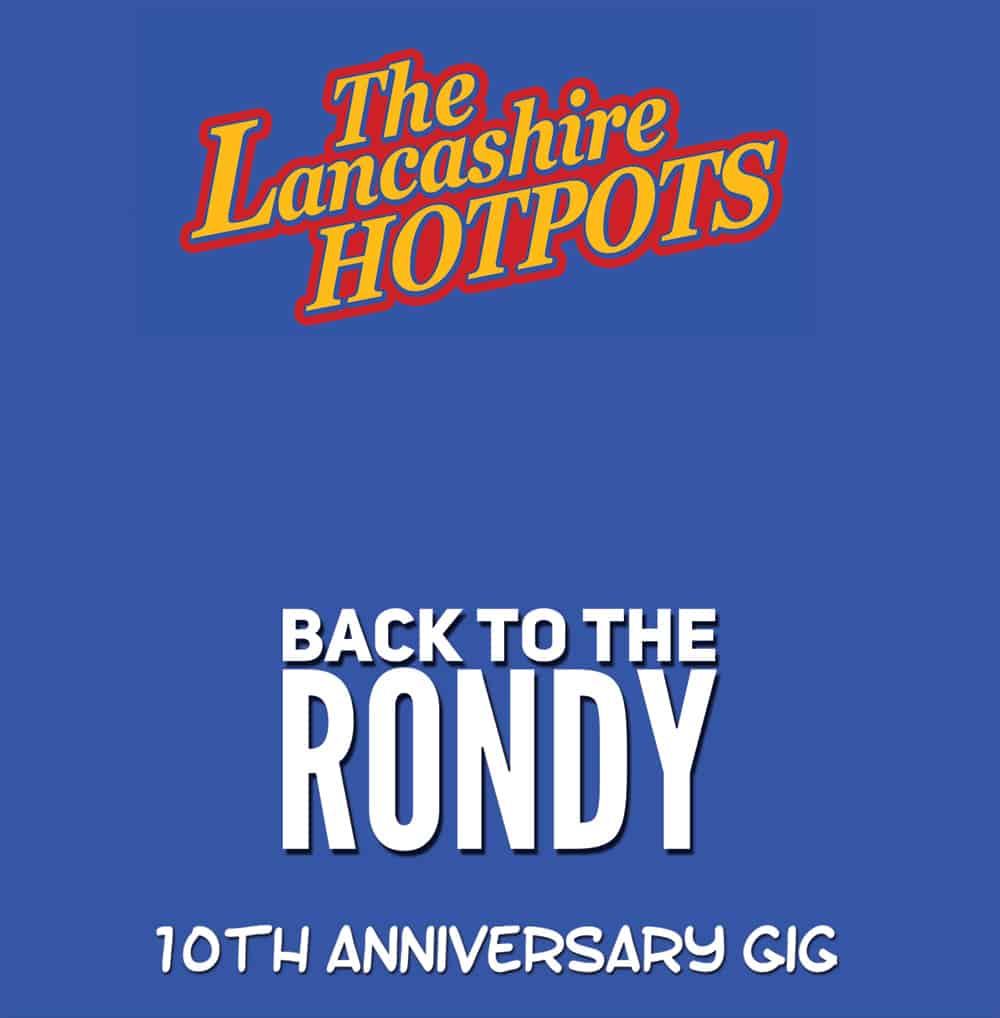 Buy Online The Lancashire Hotpots - Back To The Rondy Live CD