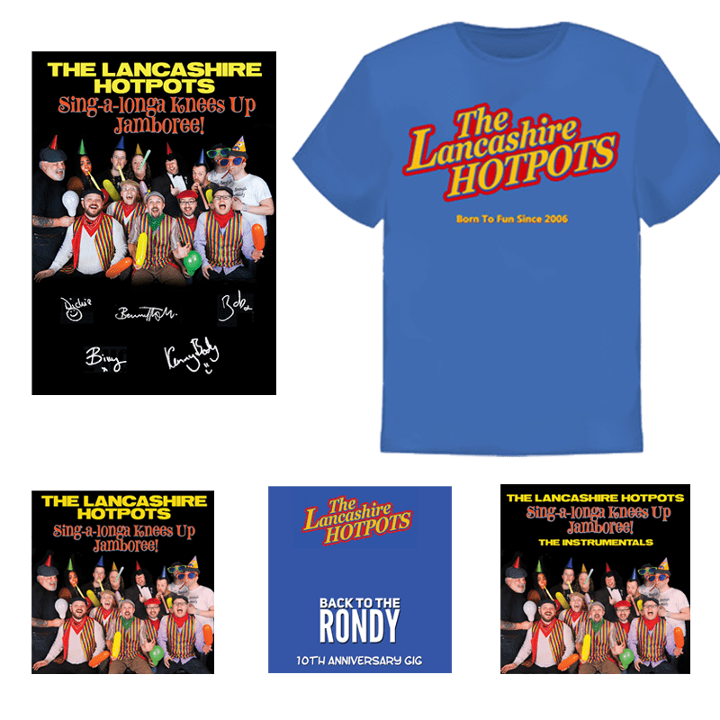 Buy Online The Lancashire Hotpots -  Deluxe Bundle