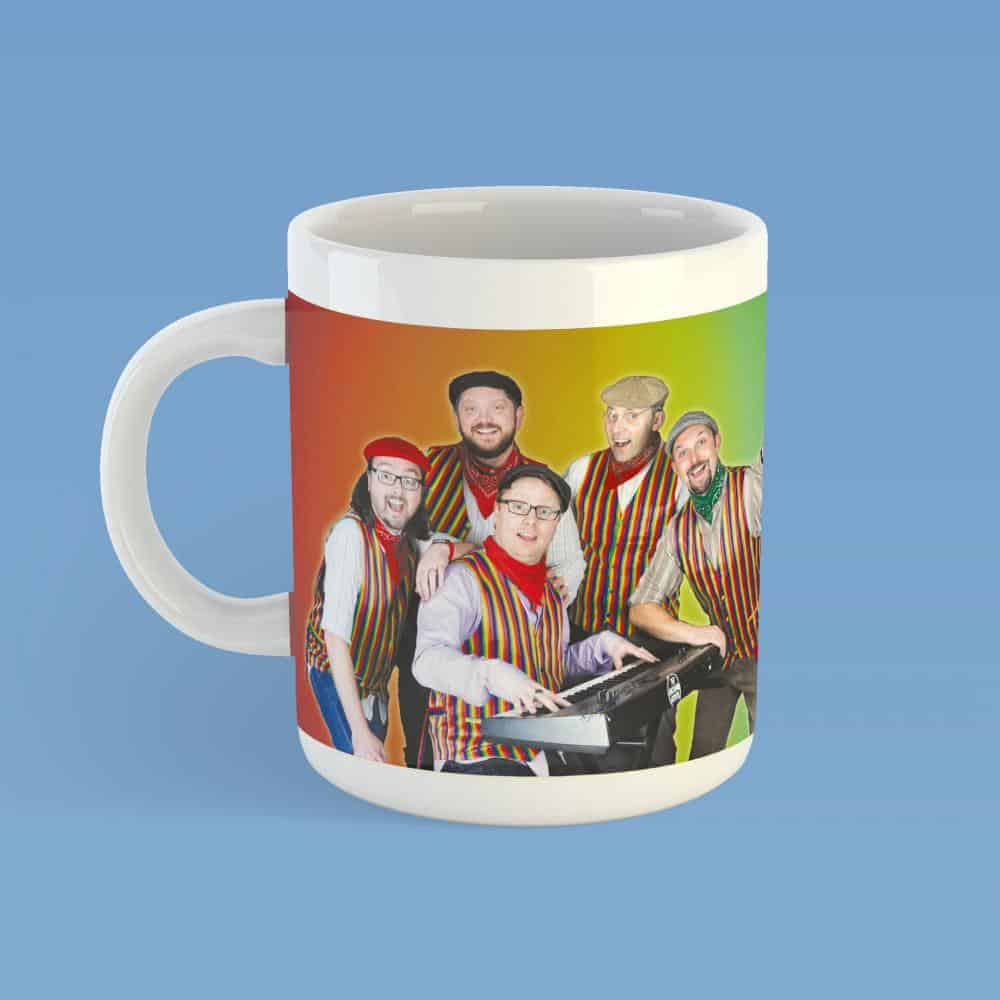 Buy Online The Lancashire Hotpots - Hotpots Rainbow Mug