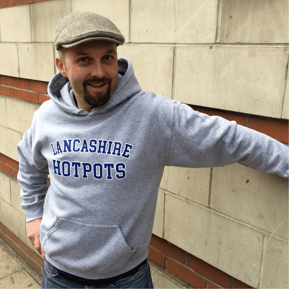 Buy Online The Lancashire Hotpots - The Lancashire Hotpots Hoodie + Crust For Life (+ Instant Live Download)