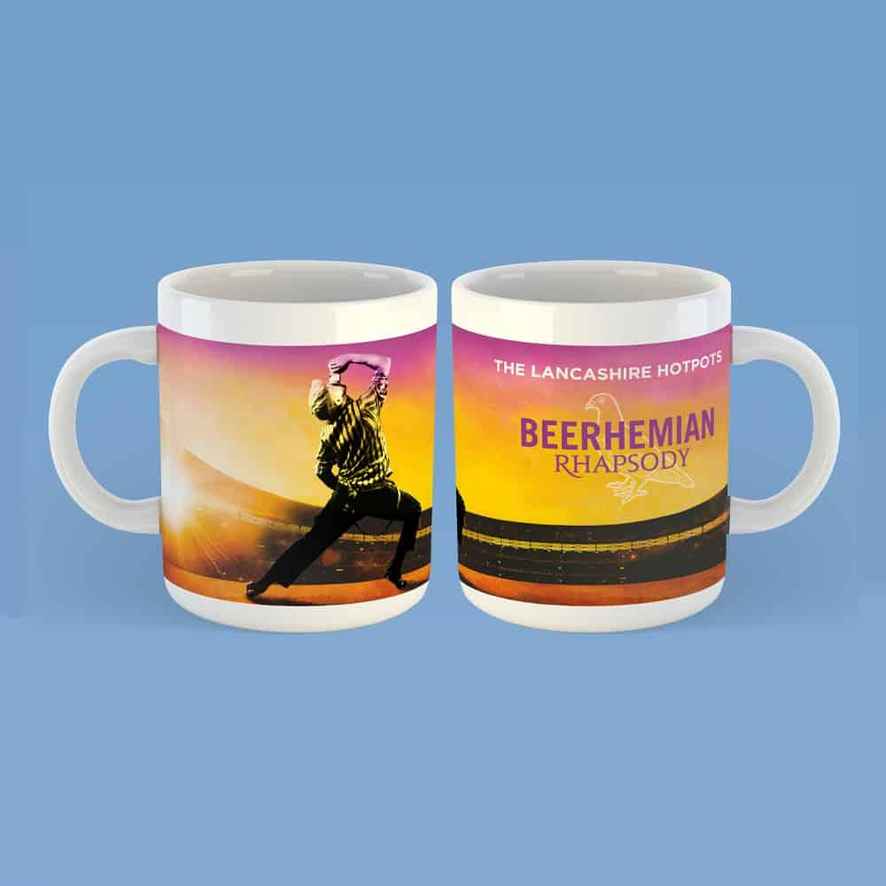 Buy Online The Lancashire Hotpots - Beerhemian Rhapsody Mug