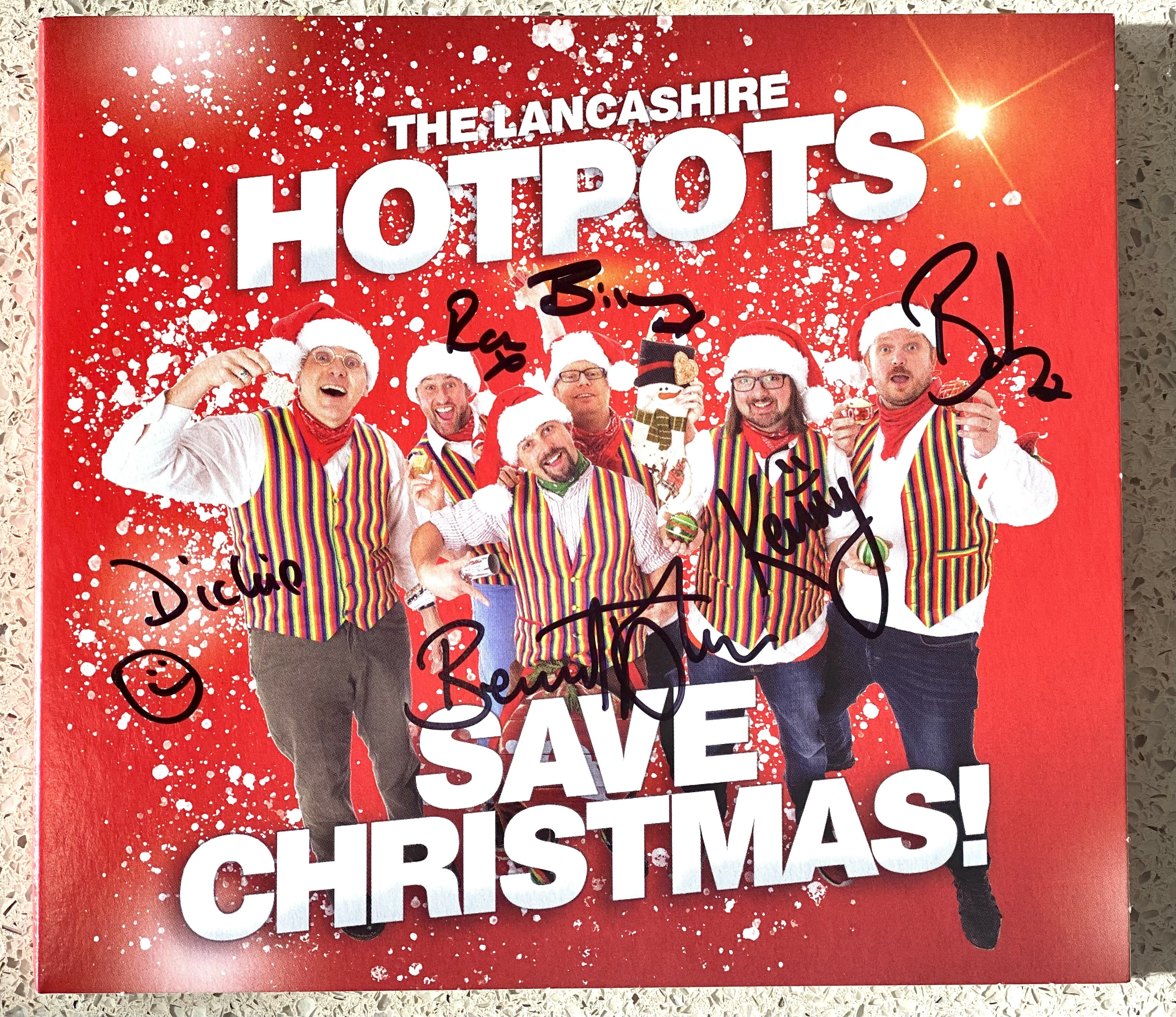 Buy Online The Lancashire Hotpots - Save Christmas CD