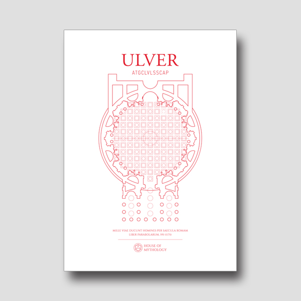 Buy Online Ulver - Ulver A1 matte poster