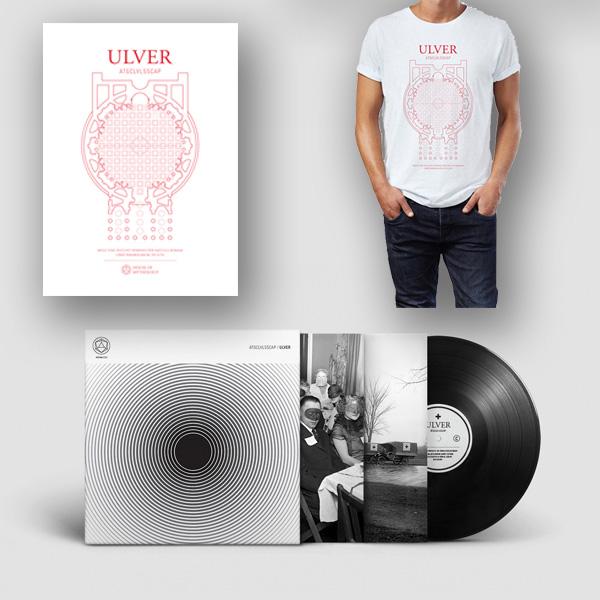 Buy Online Ulver - Ulver black LP + t-shirt + A1 matte poster