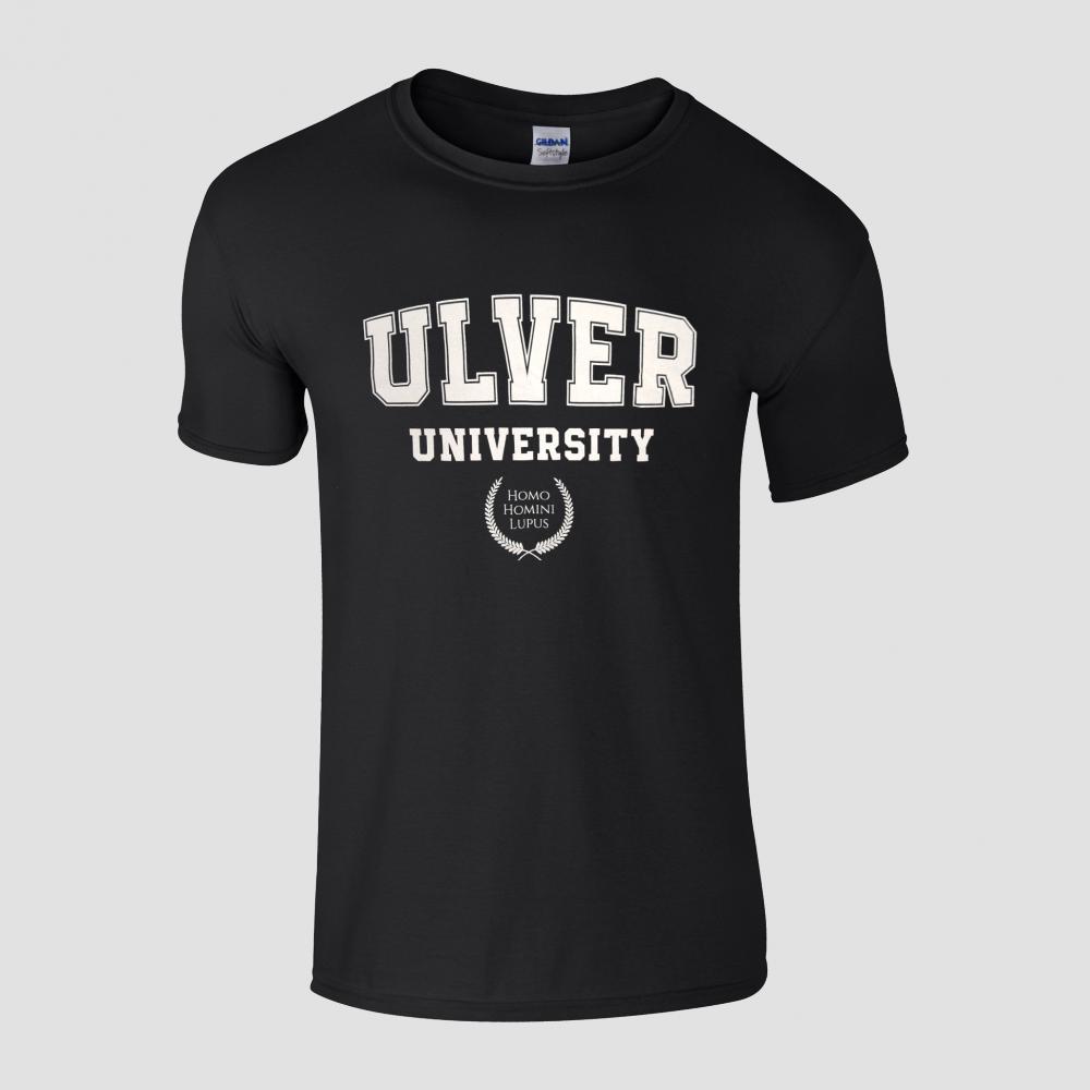 Buy Online House Of Mythology - Ulver University Black T-Shirt