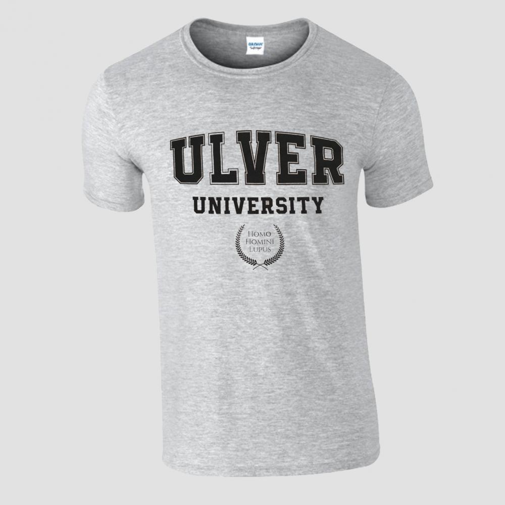 Buy Online House Of Mythology - Ulver University Grey T-Shirt