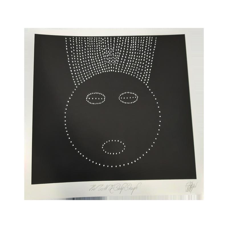 Buy Online David Tibet - Current 93 Print (Signed By David Tibet)