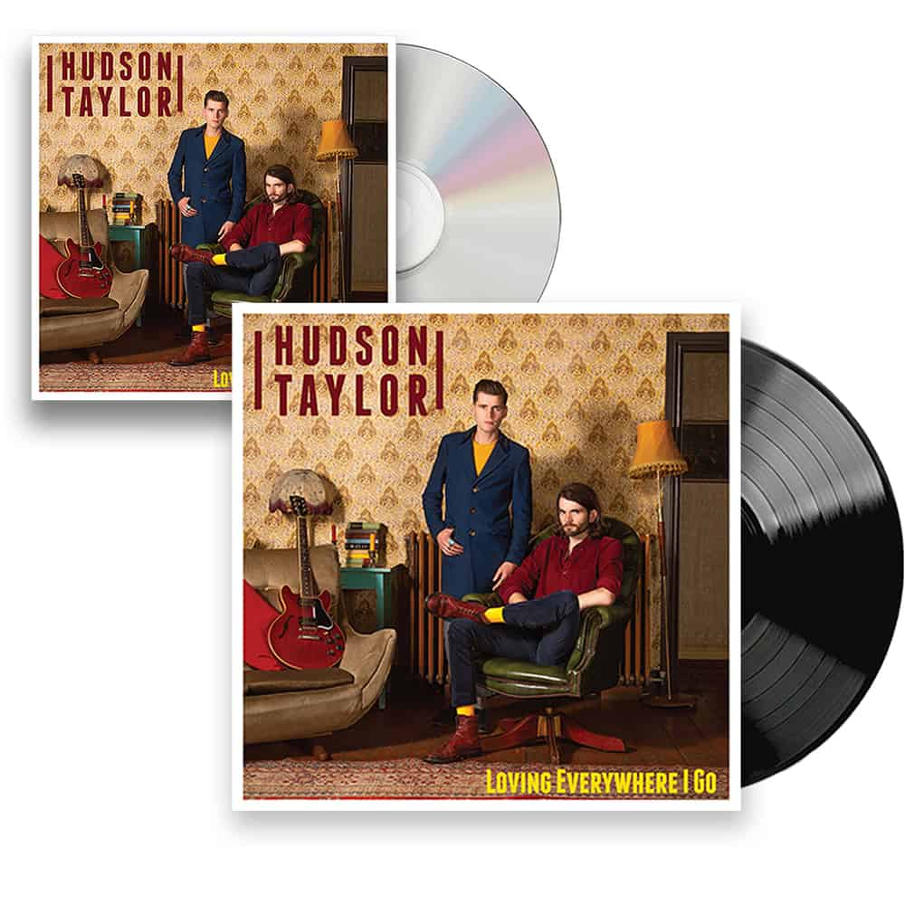 Buy Online Hudson Taylor - Loving Everywhere I Go  CD + Black Vinyl + Postcard
