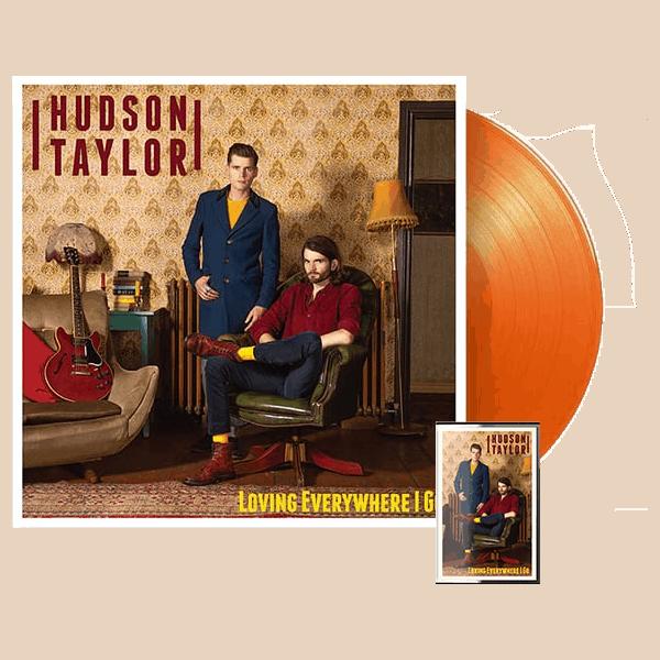 Buy Online Hudson Taylor - Loving Everywhere I Go Go Orange Vinyl + Cassette + Postcard