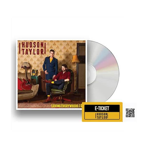 Buy Online Hudson Taylor - Loving Everywhere I Go CD + Album Party Ticket + Postcard