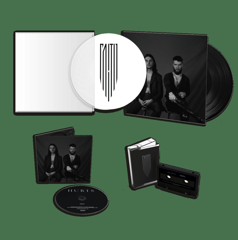 """Faith 12"""" Picture Disc Vinyl (Exclusive) + 12"""" Gatefold Vinyl + CD + Cassette"""