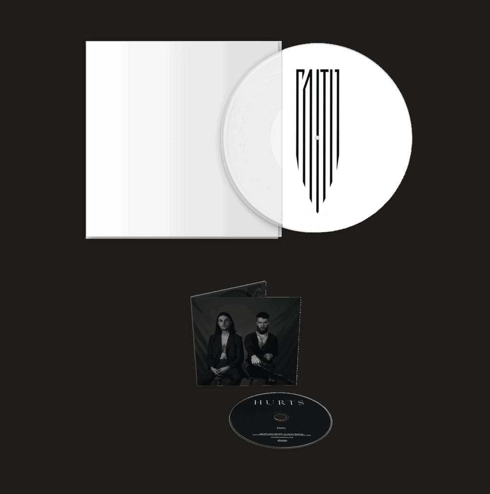"""Faith 12"""" Picture Disc Vinyl (Exclusive) + CD"""