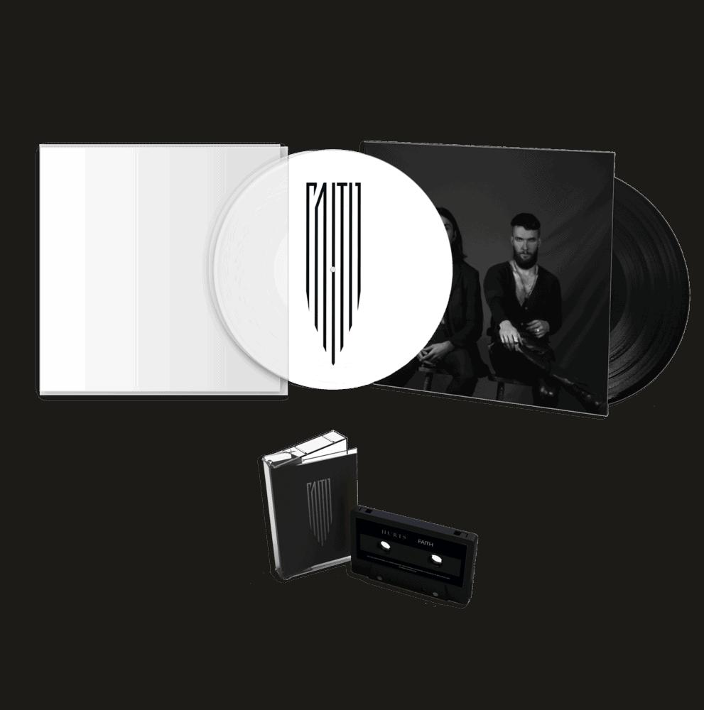 """Faith 12"""" Picture Disc Vinyl (Exclusive) + 12"""" Gatefold Vinyl + Cassette"""