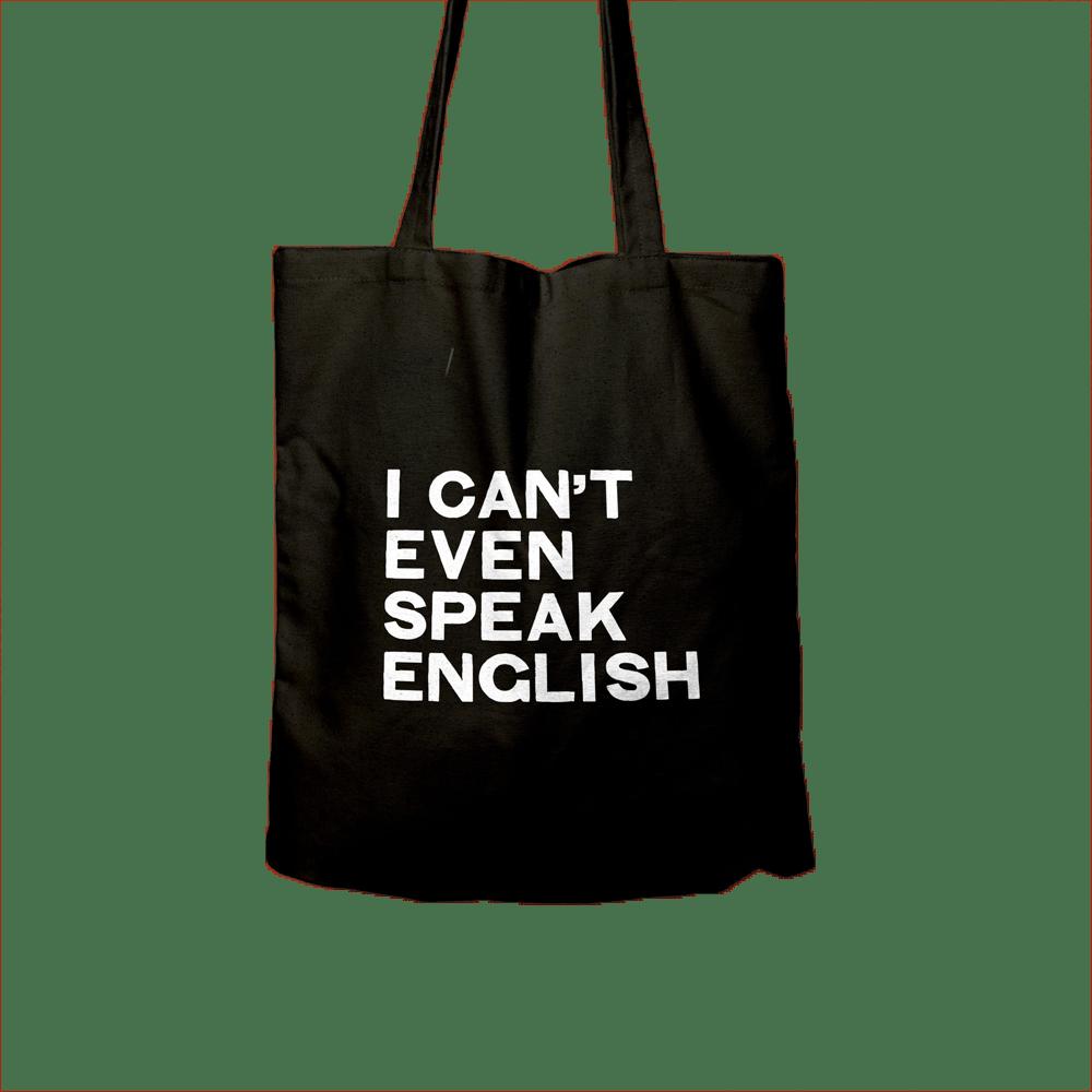 Buy Online Husky Loops - I Cant Even Speak English Tote Bag