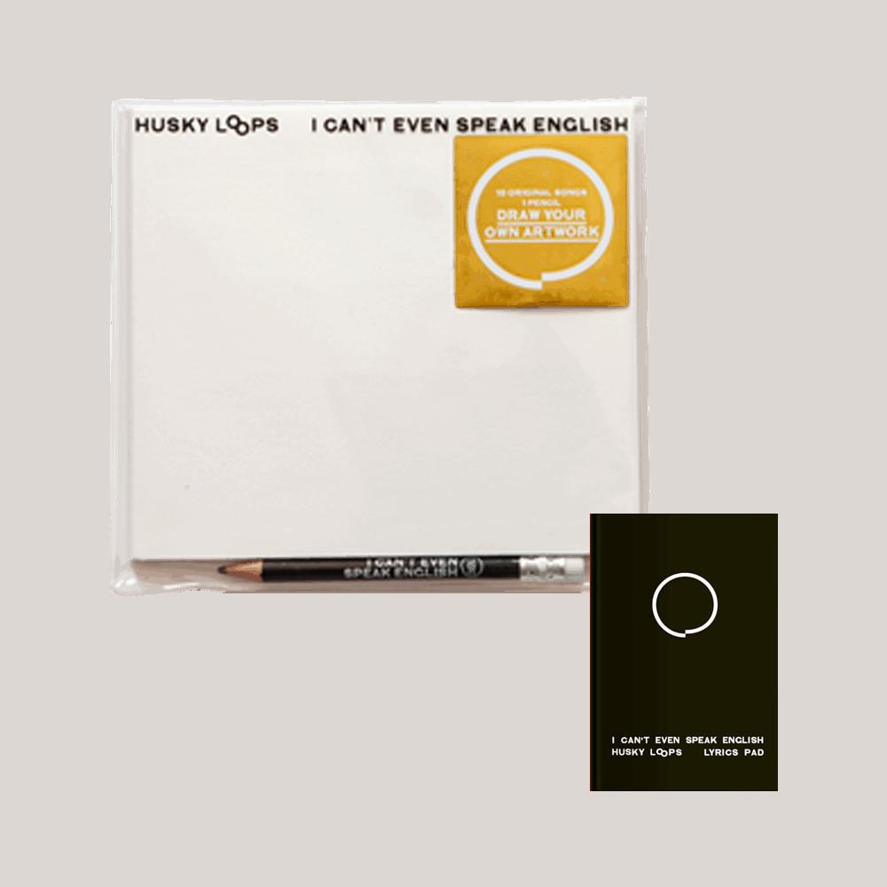 Buy Online Husky Loops - I Cant Even Speak English CD + Lyric Book