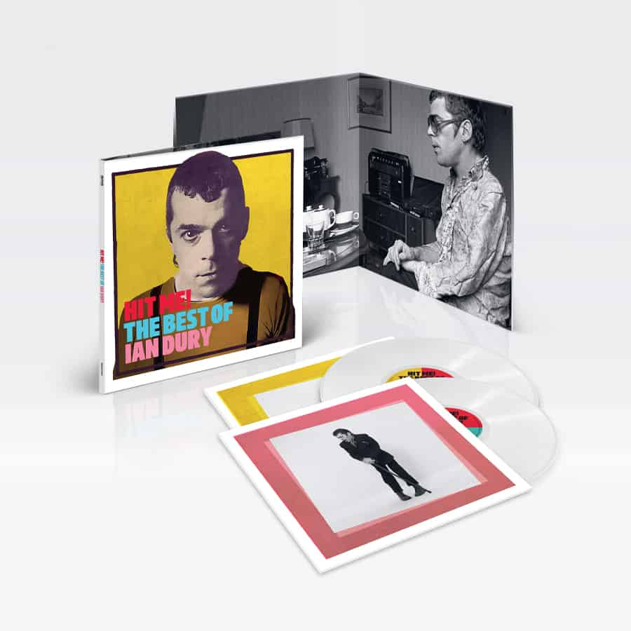 Buy Online Ian Dury - Hit Me! The Best Of White