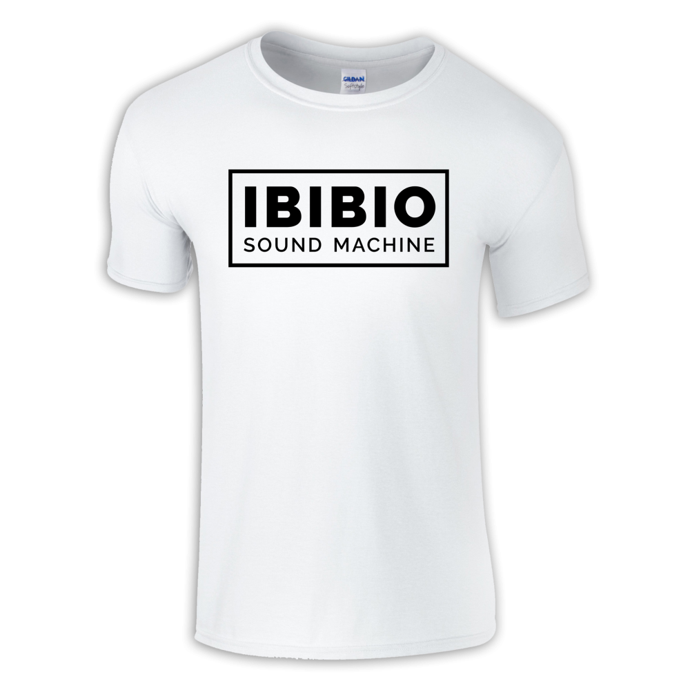 Buy Online Ibibio Sound Machine - White Logo T-Shirt