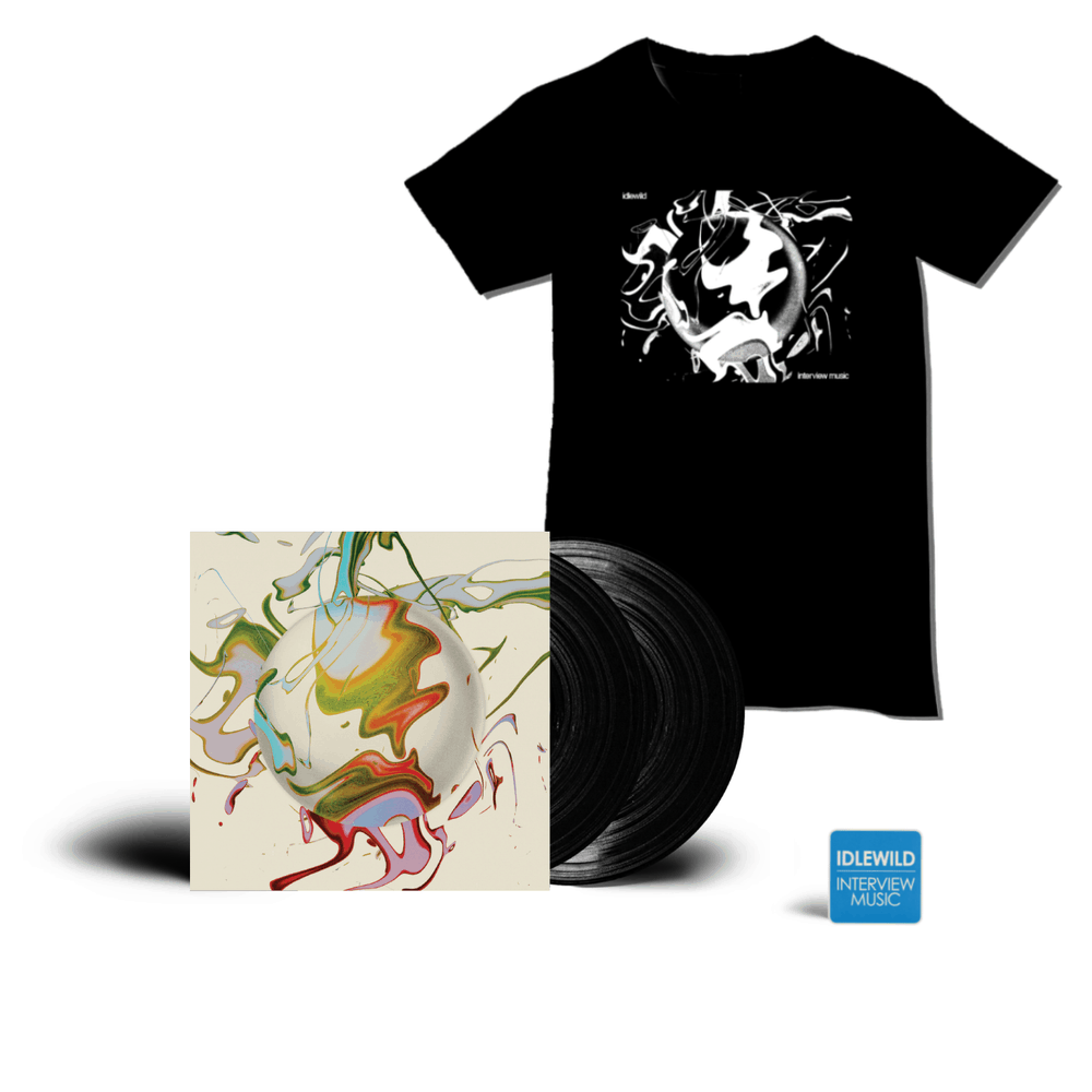 Buy Online Idlewild - Interview Music Double Vinyl + Interview Music Album T-Shirt