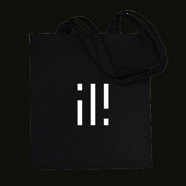 Buy Online ili - ili White Logo Tote Bag