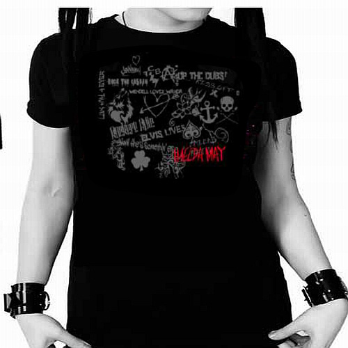 Buy Online Imelda May - Black Tribal Tour Ladies T-Shirt