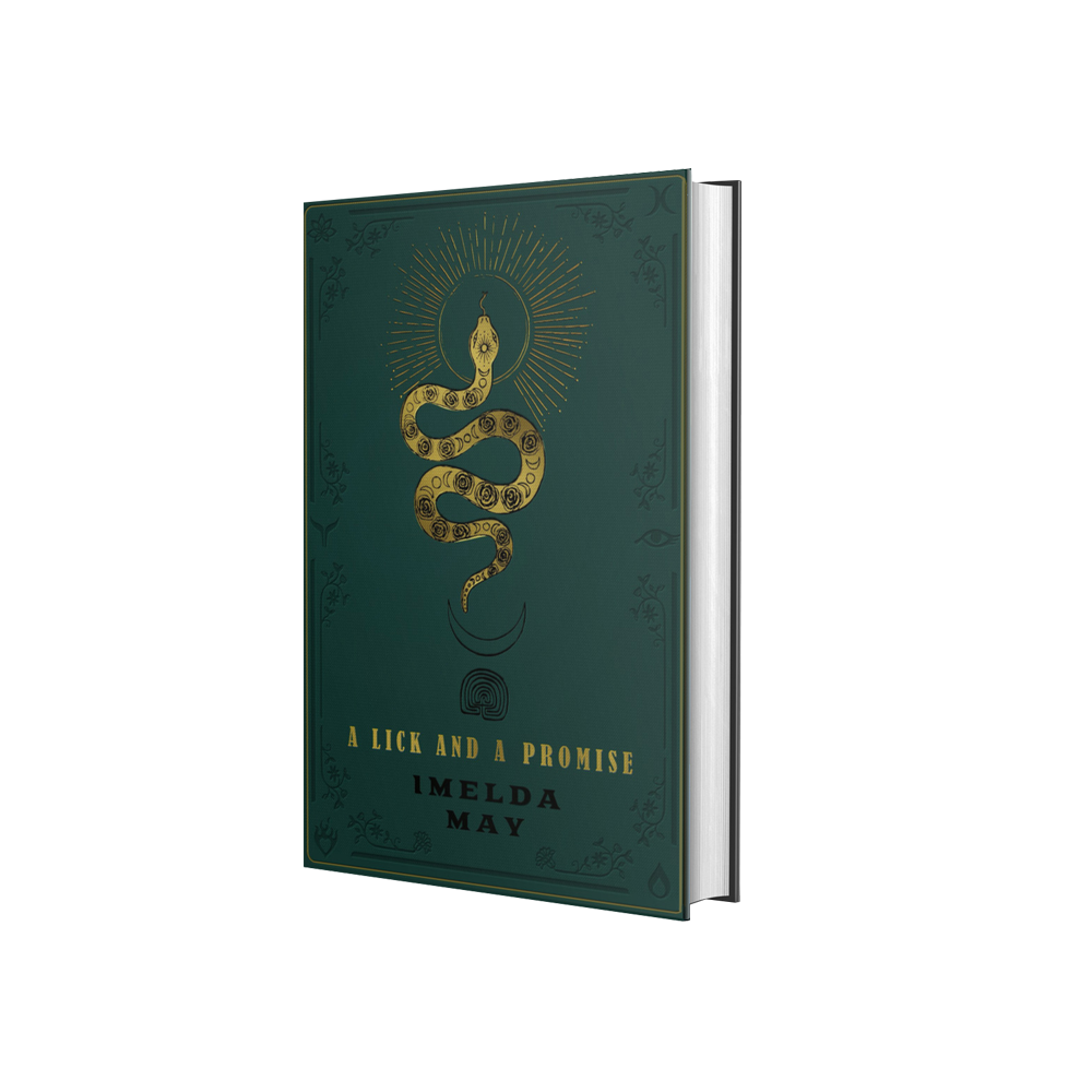 Buy Online Imelda May - A Lick And A Promise Book (Exclusive Ltd Edition, Signed & Numbered)