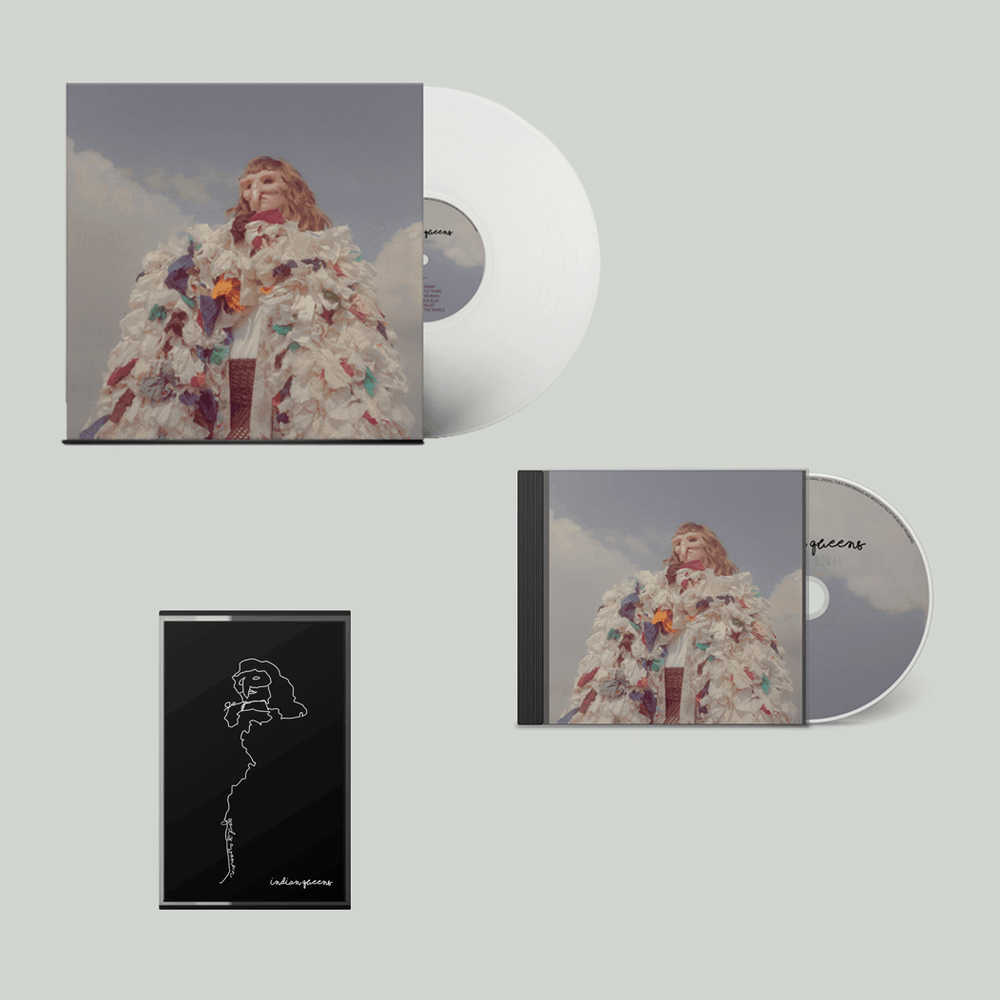 Buy Online Indian Queens - God Is A Woman Vinyl + CD (Signed) + Cassette
