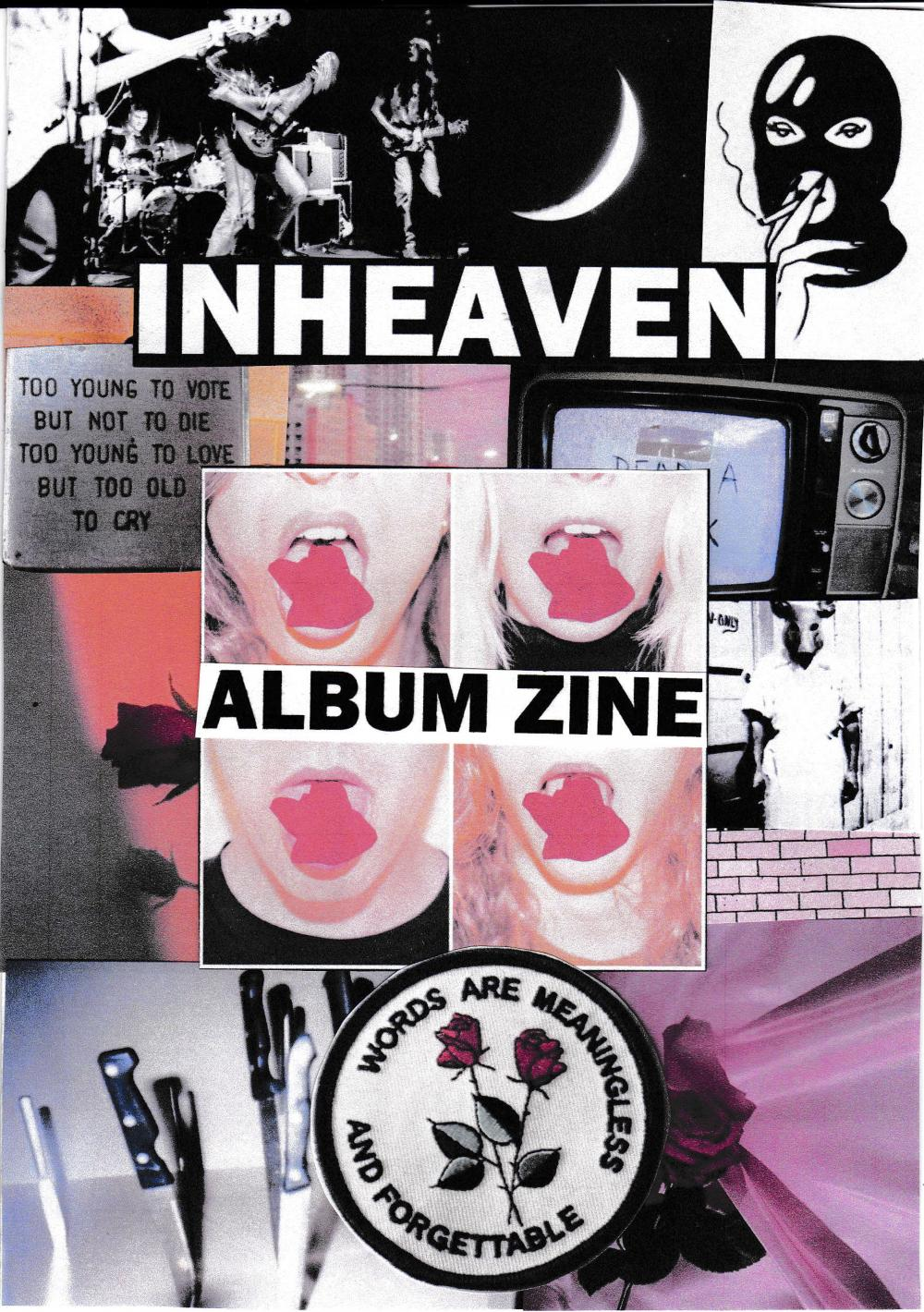 Buy Online Inheaven - ZINE BOOK