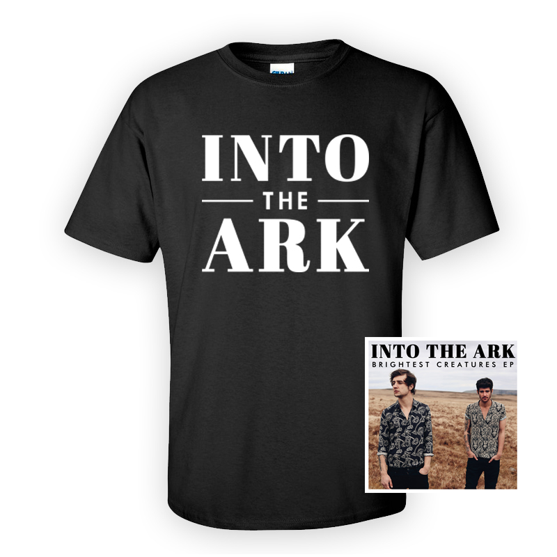 Buy Online Into The Ark - Black Logo T-Shirt Bundle
