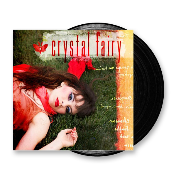Buy Online Crystal Fairy - Crystal Fairy Black Vinyl LP