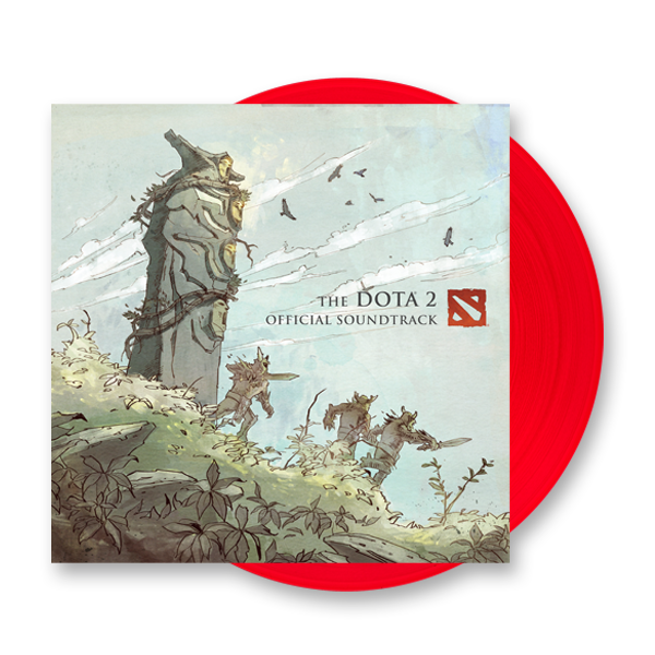 Buy Online Valve Studio Orchestra - The DOTA 2 Official Soundtrack Red Vinyl LP