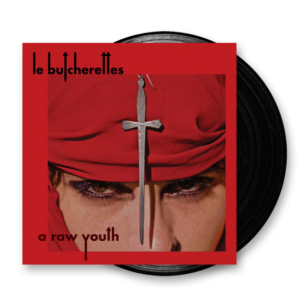 Buy Online Le Butcherettes - A Raw Youth Vinyl LP