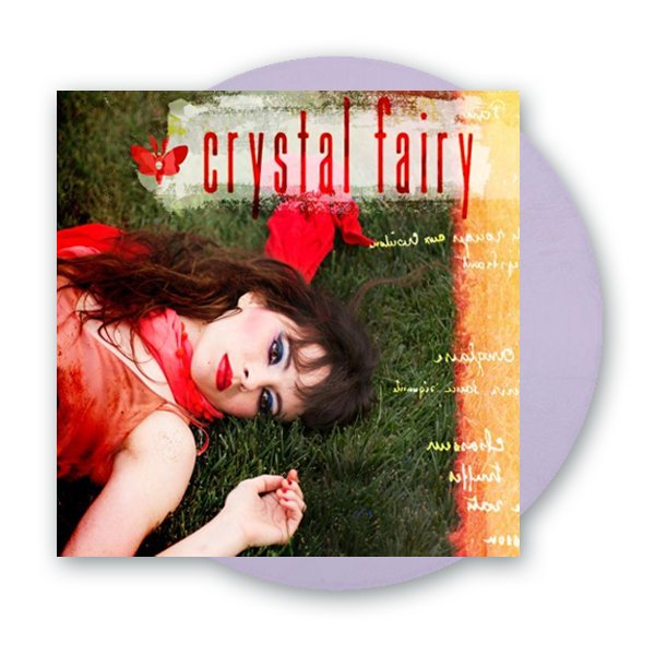 Buy Online Crystal Fairy - Crystal Fairy Opaque Lavender Vinyl