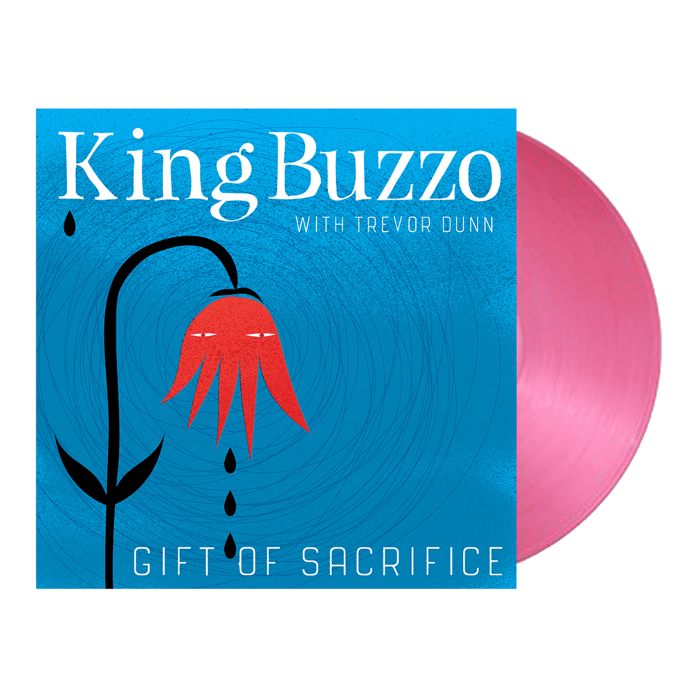 Buy Online King Buzzo (with Trevor Dunn) - Gift Of Sacrifice Hot Pink Vinyl (Ltd Edition)