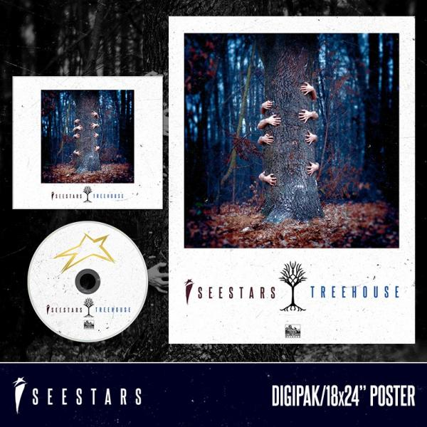 Buy Online I See Stars - Treehouse Poster + CD