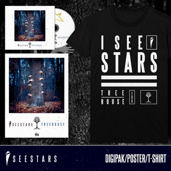 Treehouse T-Shirt + Poster + CD