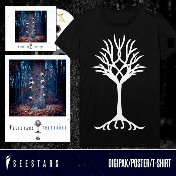 Treehouse Tree T-Shirt, Poster & CD Bundle