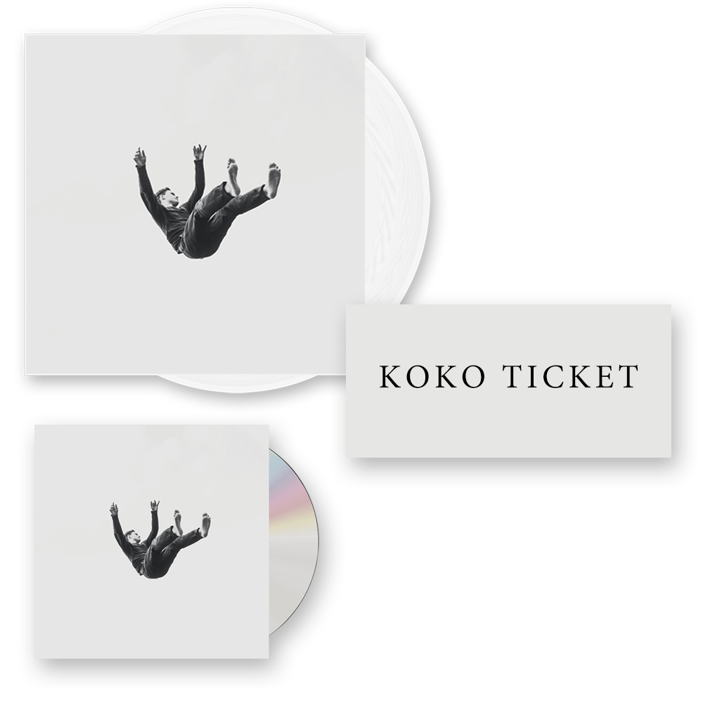 Buy Online Island - Feels Like Air CD + Ltd Edition Vinyl LP + Koko Ticket