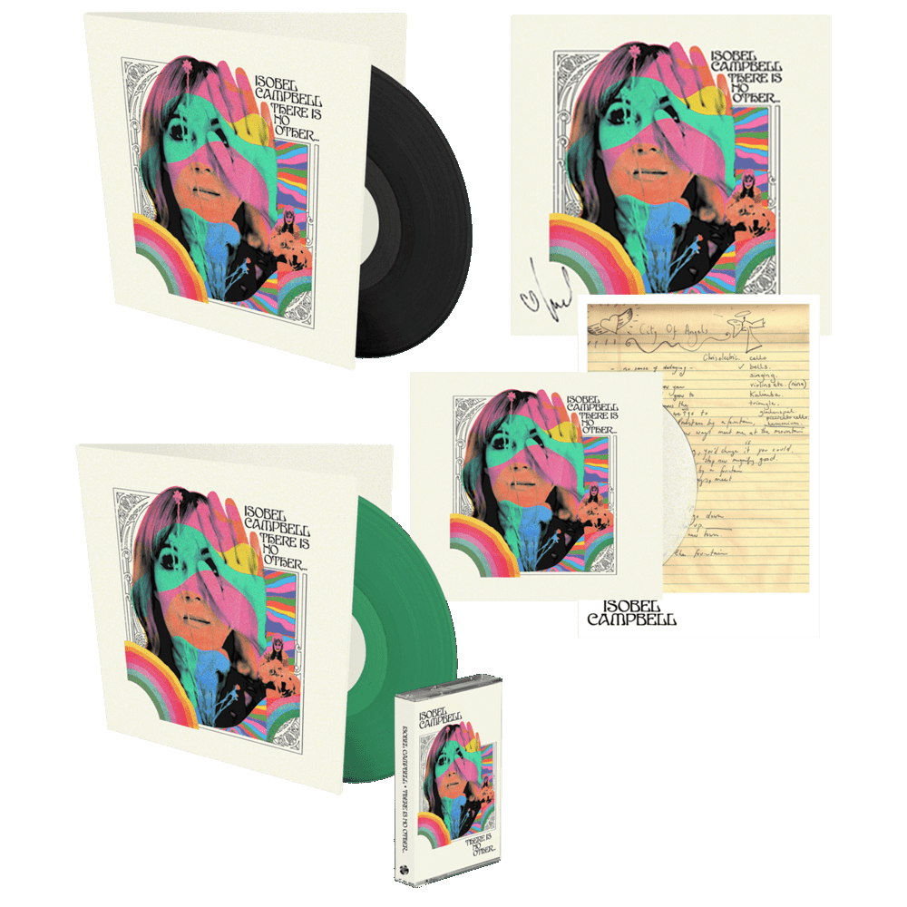 Buy Online Isobel Campbell - There Is No Other CD + Vinyl +  Coloured Vinyl (Exclusive) + Signed 12x12 Art Print + Signed Lyric Sheet