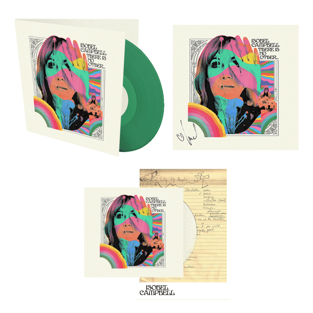 Buy Online Isobel Campbell - There Is No Other CD +  Coloured Vinyl (Exclusive) + Signed 12x12 Art Print + Signed Lyric Sheet