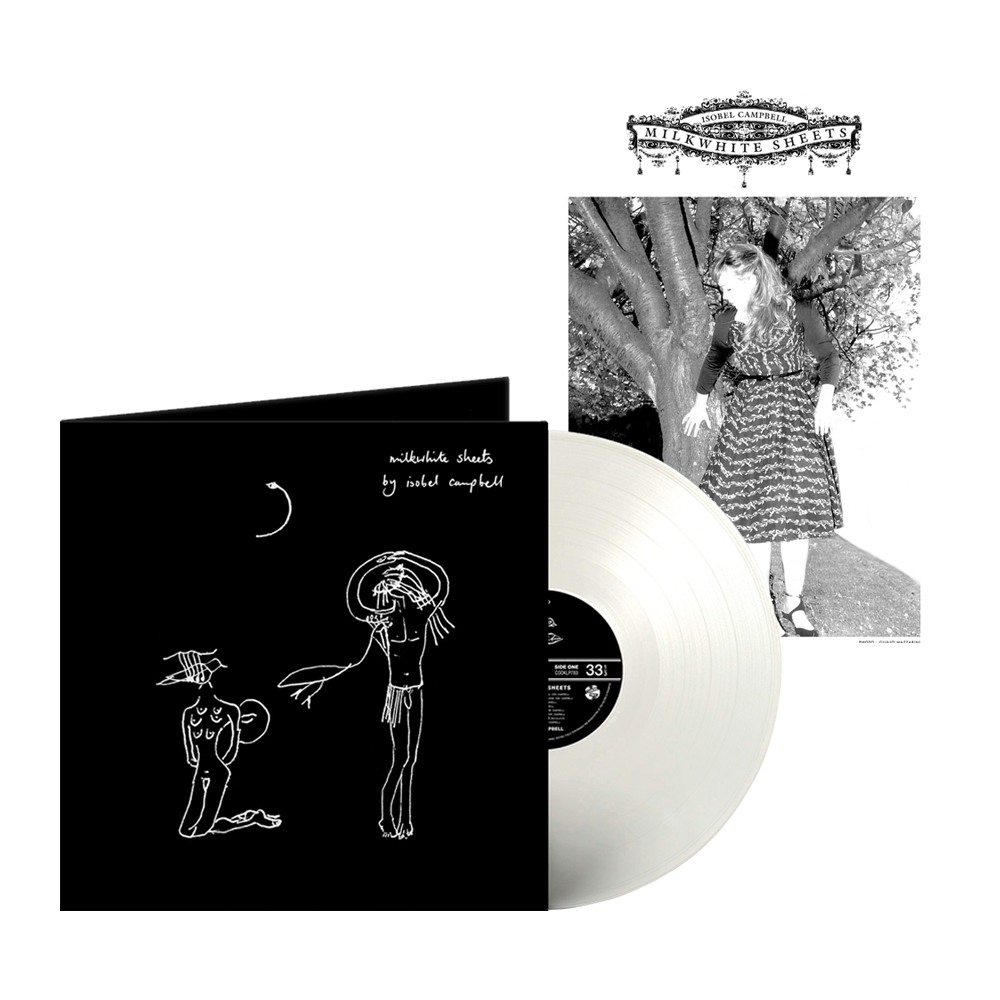 Buy Online Isobel Campbell - Milkwhite Sheets Coloured Vinyl (Exclusive) + A4 Print (Signed)