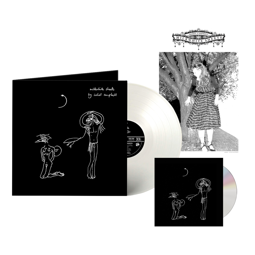 Buy Online Isobel Campbell - Milkwhite Sheets CD + Coloured Vinyl (Exclusive) + A4 Print (Signed)