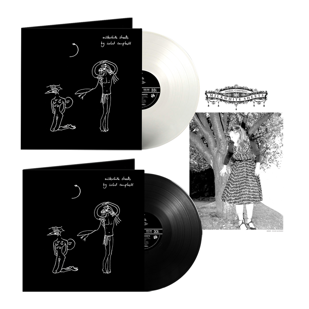 Buy Online Isobel Campbell - Milkwhite Sheets Black Vinyl + Coloured Vinyl (Exclusive) + A4 Print (Signed)