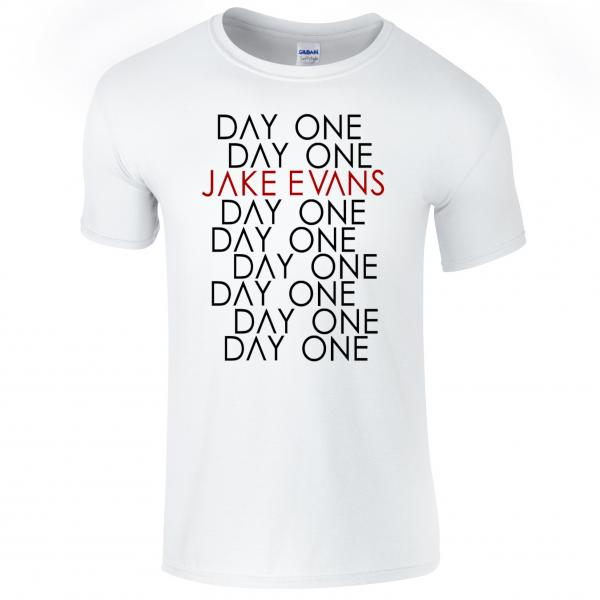 Buy Online Jake Evans - Day One White T-Shirt